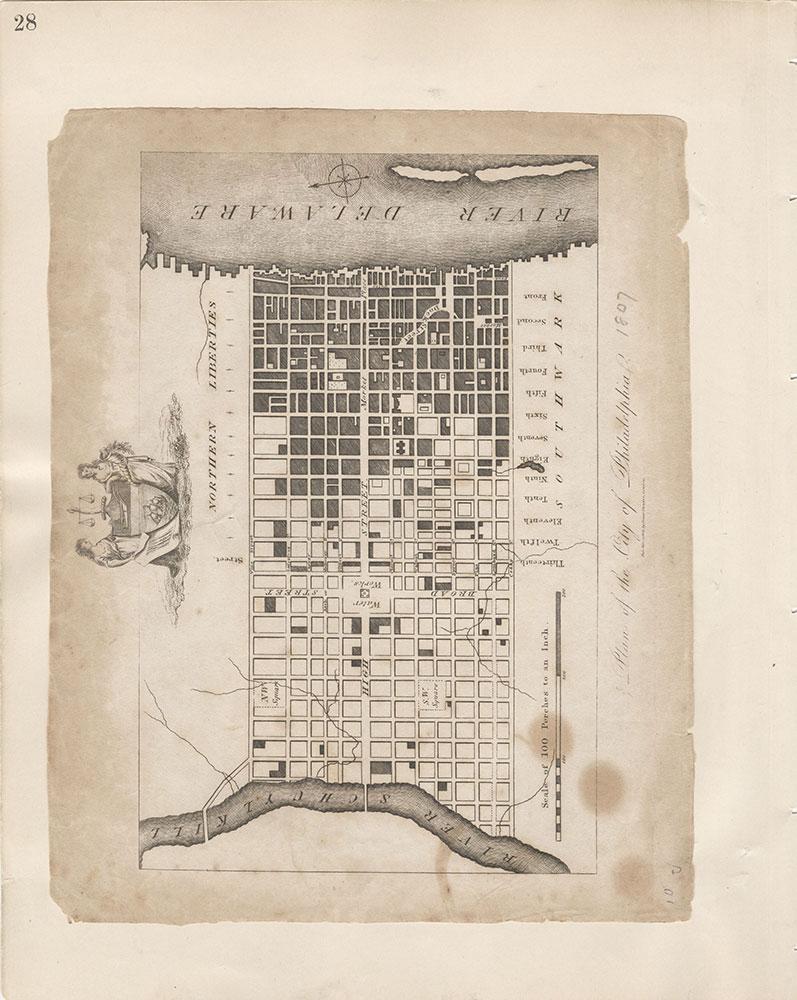 Castner Scrapbook v.7, Walks, Views, Maps, page 28