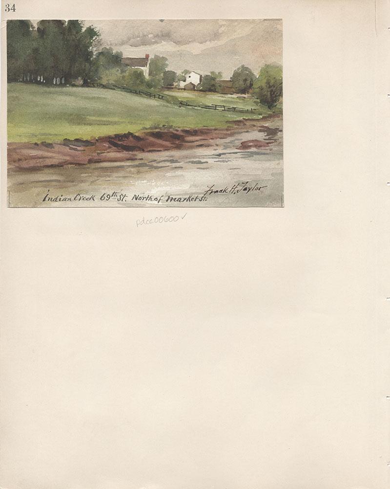 Castner Scrapbook v.7, Walks, Views, Maps, page 34