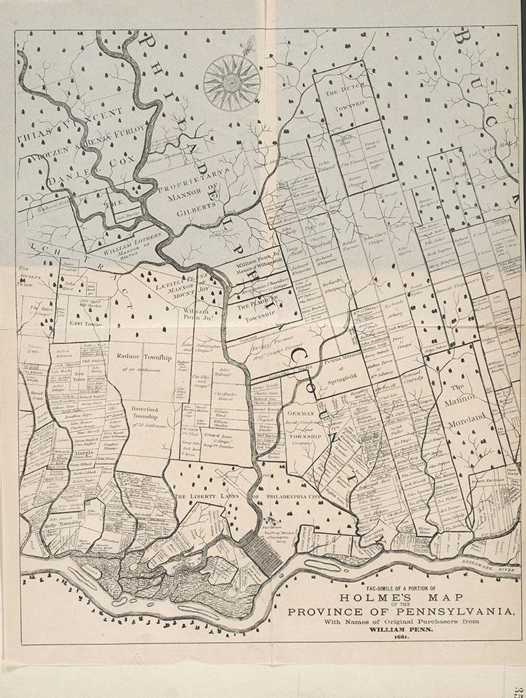 Castner Scrapbook v.7, Walks, Views, Maps, page 35