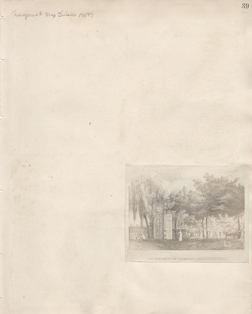 Castner Scrapbook v.7, Walks, Views, Maps, page 39