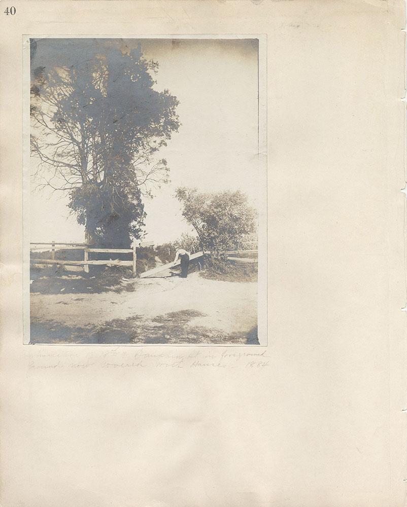 Castner Scrapbook v.7, Walks, Views, Maps, page 40