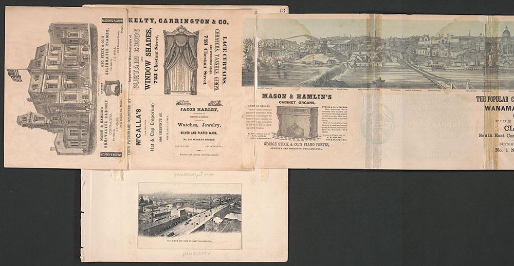 Castner Scrapbook v.7, Walks, Views, Maps, page 43