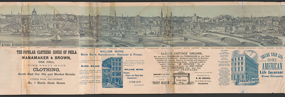 Castner Scrapbook v.7, Walks, Views, Maps, page 43
