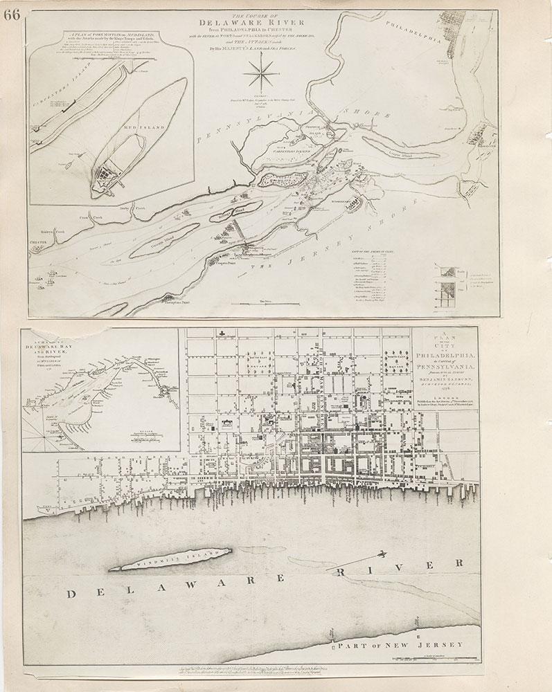 Castner Scrapbook v.7, Walks, Views, Maps, page 66
