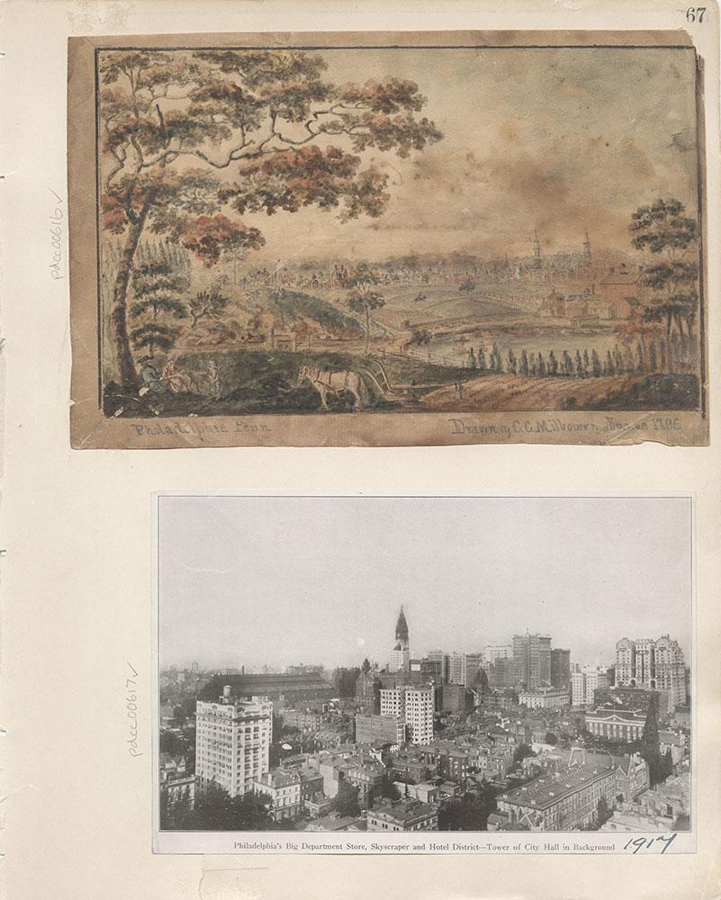 Castner Scrapbook v.7, Walks, Views, Maps, page 67