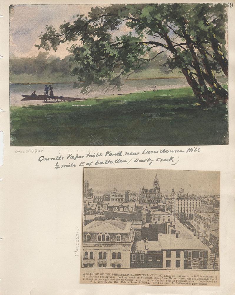 Castner Scrapbook v.7, Walks, Views, Maps, page 69