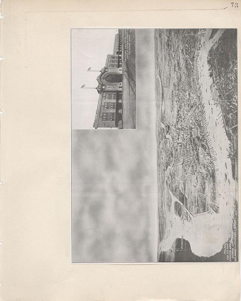 Castner Scrapbook v.7, Walks, Views, Maps, page 73
