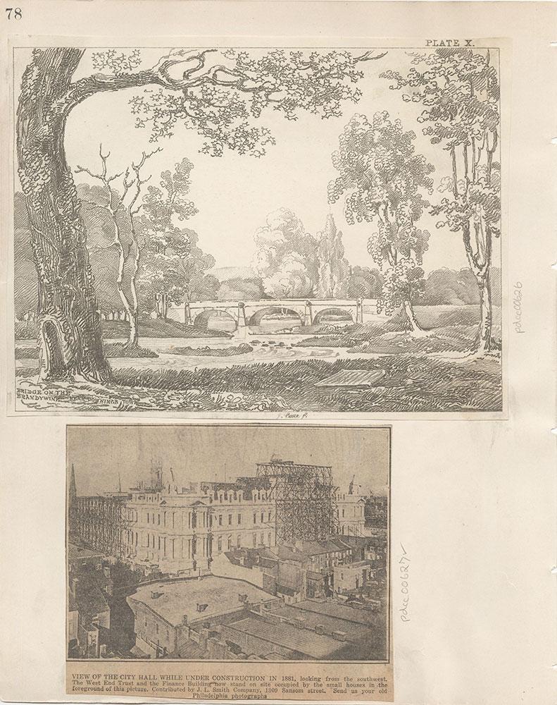 Castner Scrapbook v.7, Walks, Views, Maps, page 78