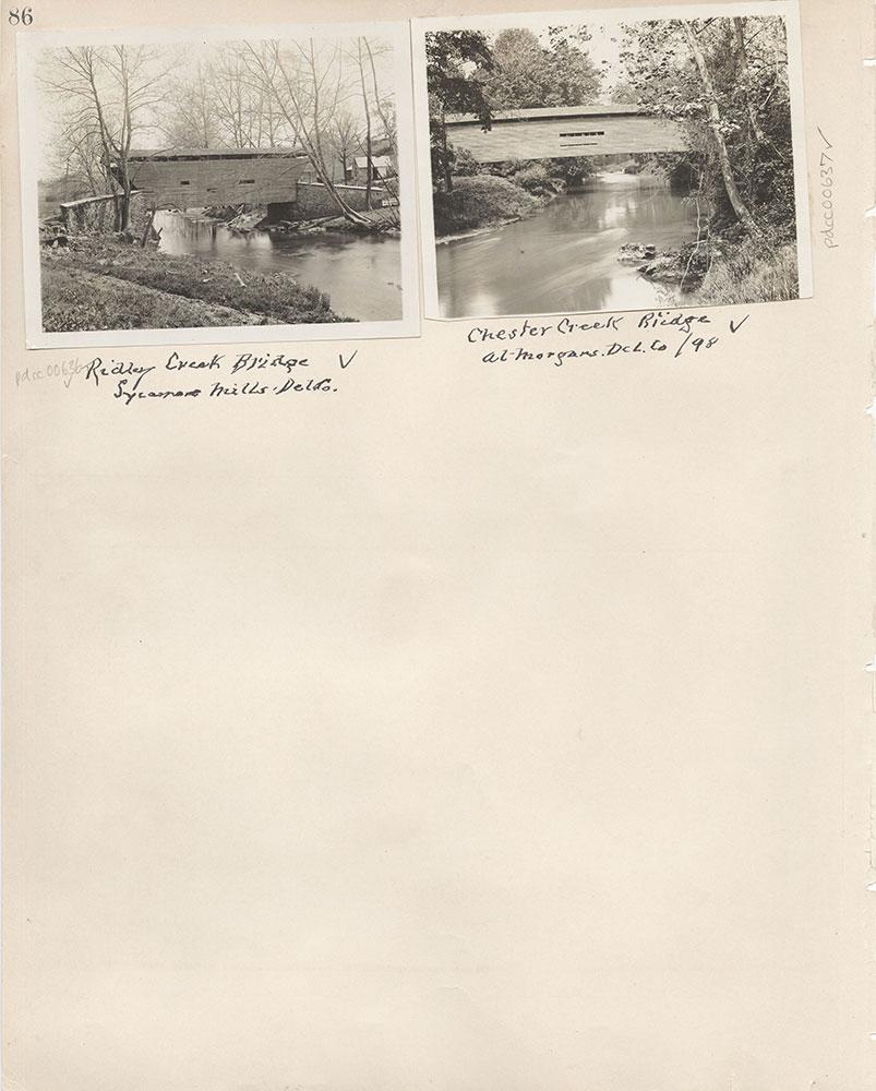 Castner Scrapbook v.7, Walks, Views, Maps, page 86