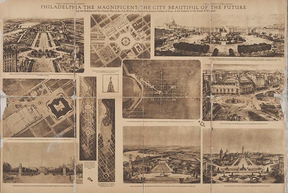 Castner Scrapbook v.7, Walks, Views, Maps, page 94