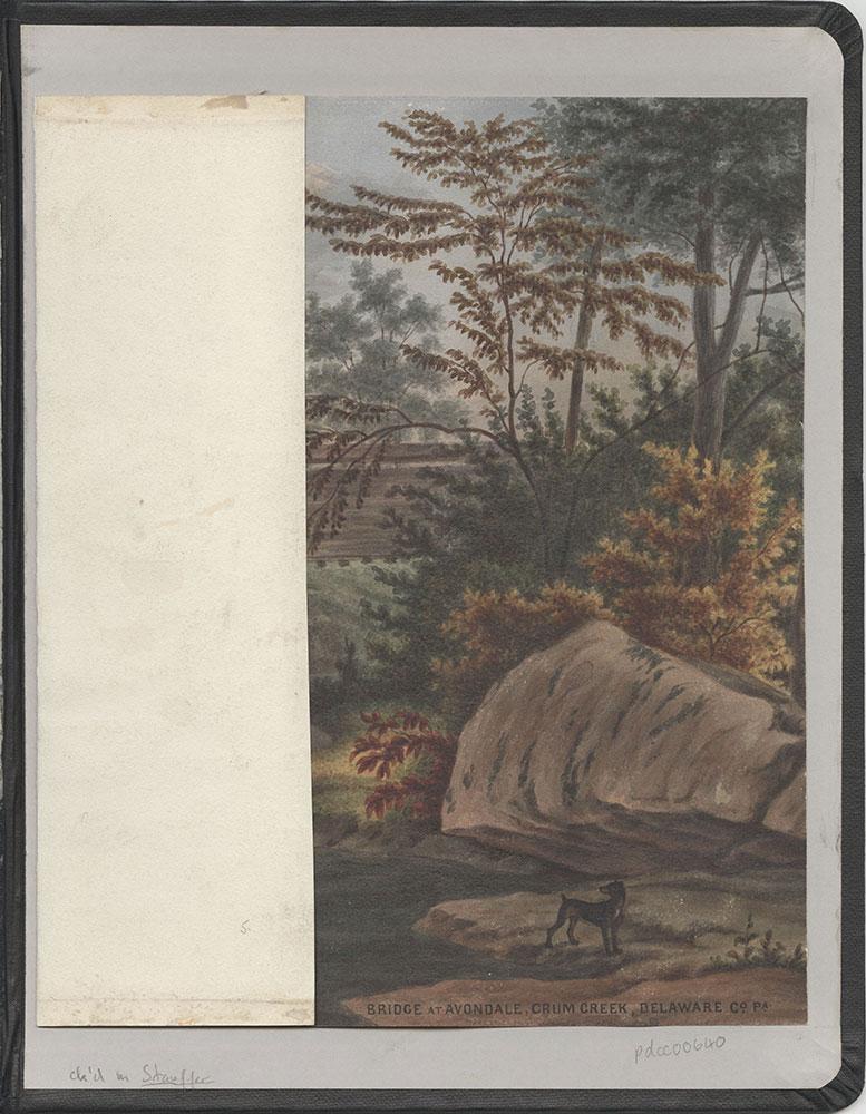Castner Scrapbook v.7, Walks, Views, Maps, (inside back cover)