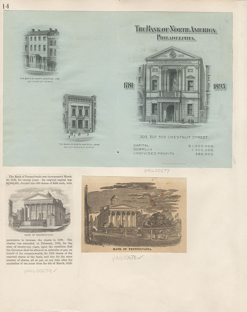 Castner Scrapbook v.8, Financial, page 14