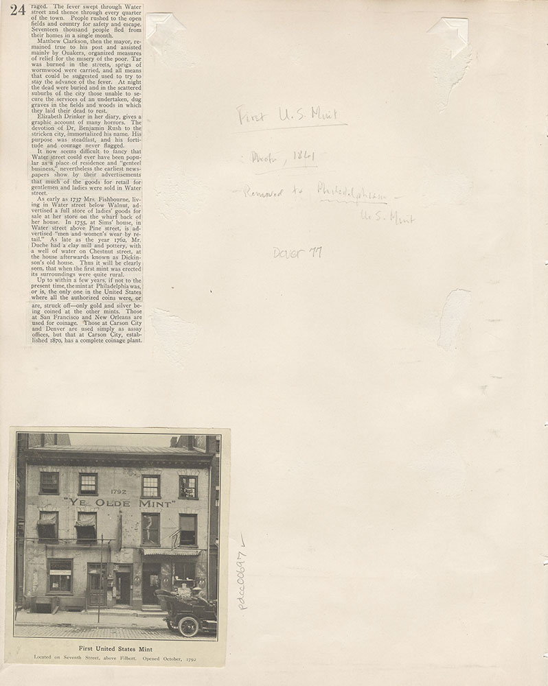 Castner Scrapbook v.8, Financial, page 24
