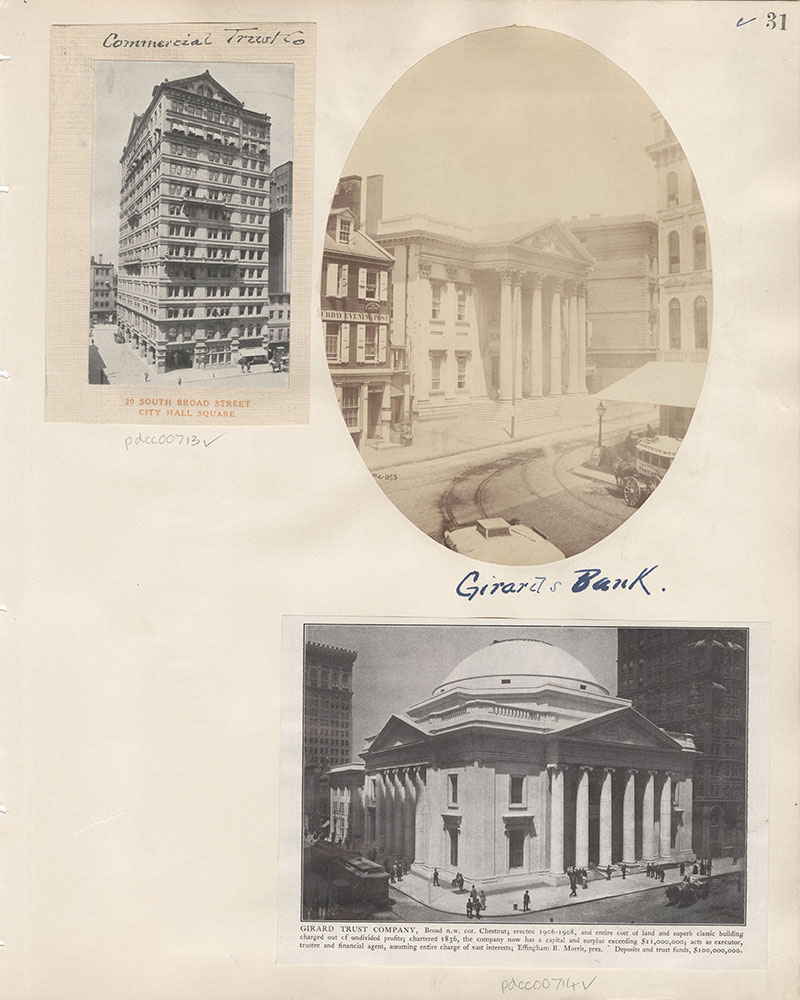 Castner Scrapbook v.8, Financial, page 31