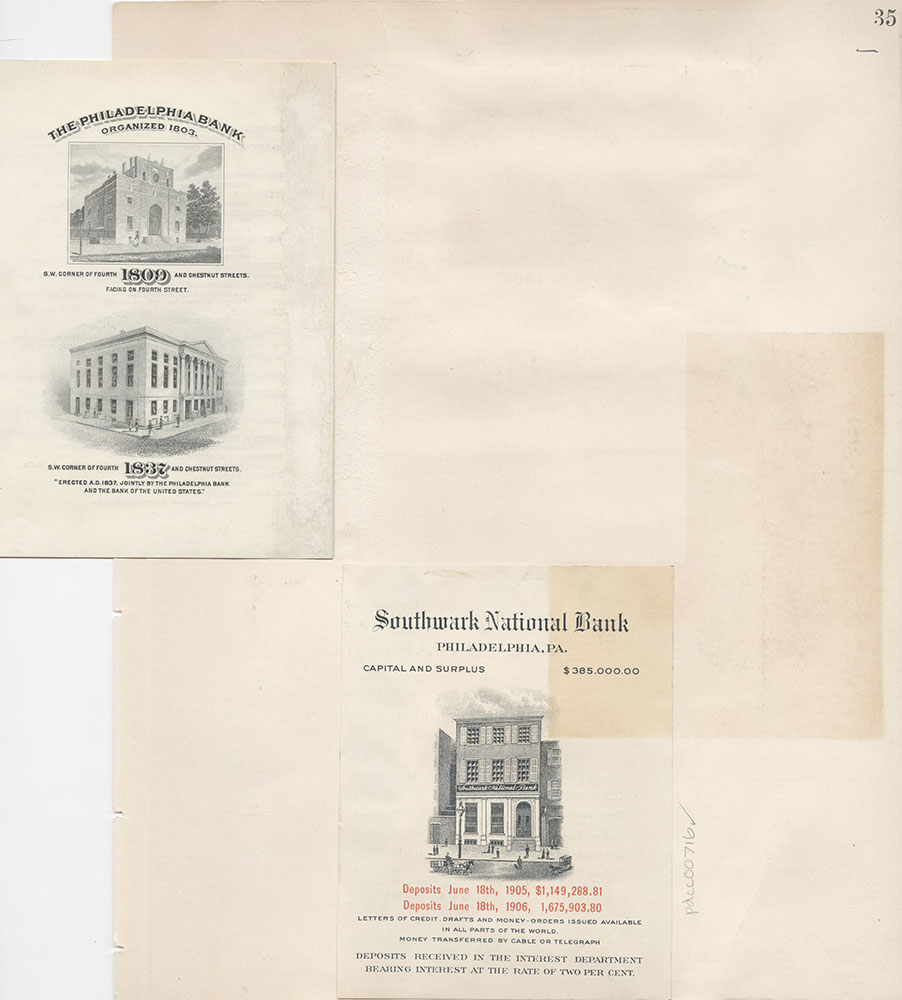 Castner Scrapbook v.8, Financial, page 35