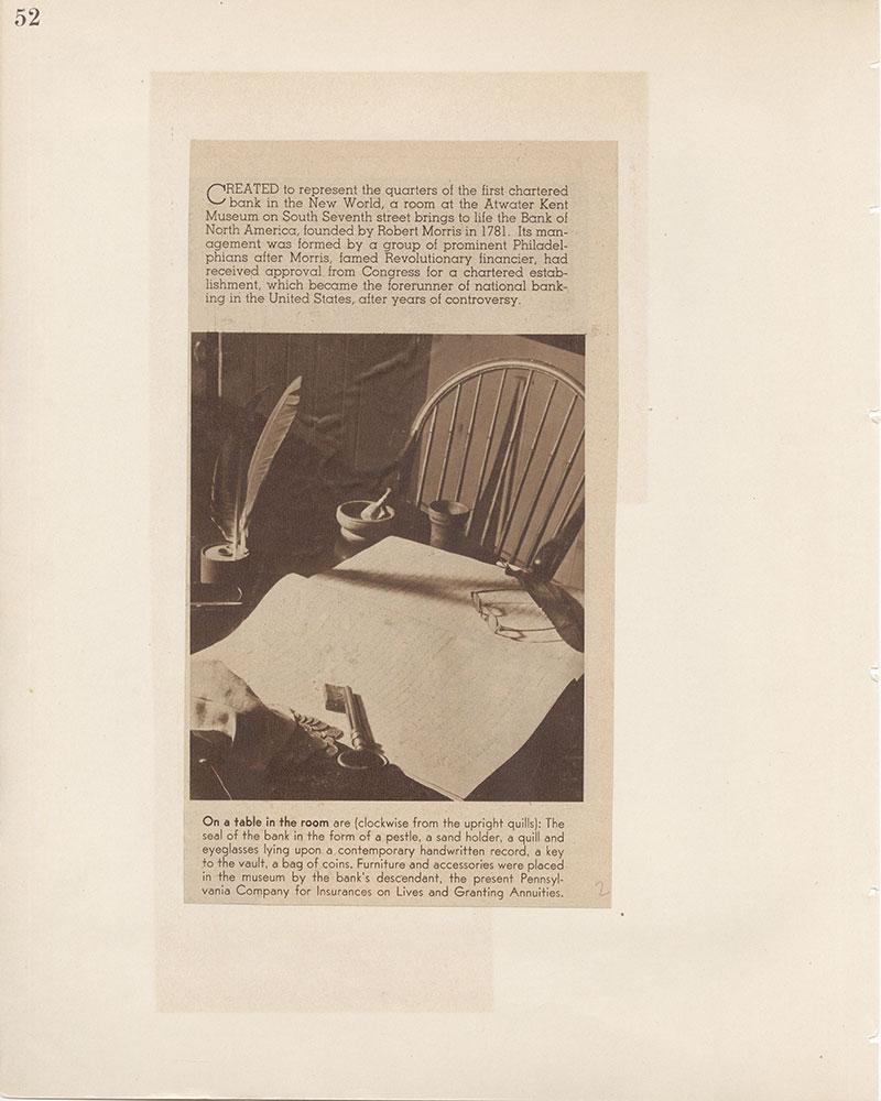 Castner Scrapbook v.8, Financial, page 52