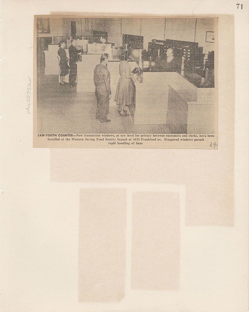 Castner Scrapbook v.8, Financial, page 71