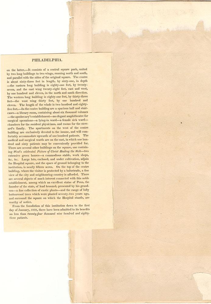 Castner Scrapbook v.9, Hospitals, Charitable, page 1