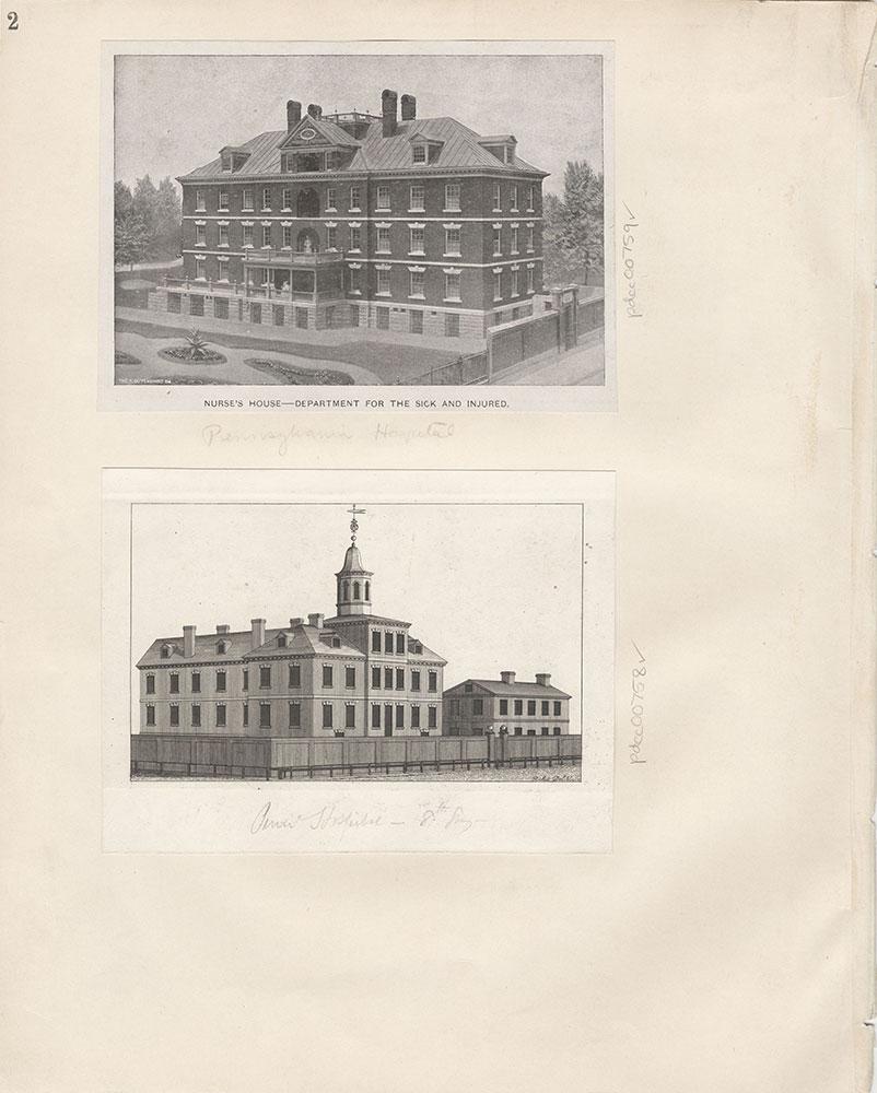 Castner Scrapbook v.9, Hospitals, Charitable, page 2