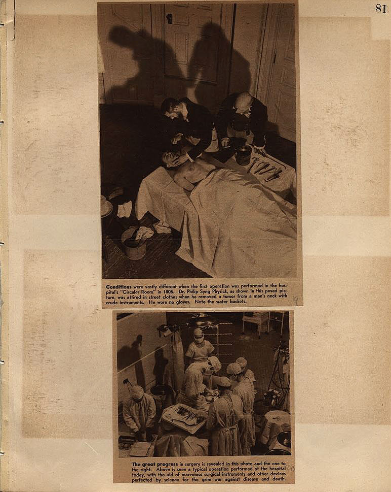 Castner Scrapbook v.9, Hospitals, Charitable, page 81