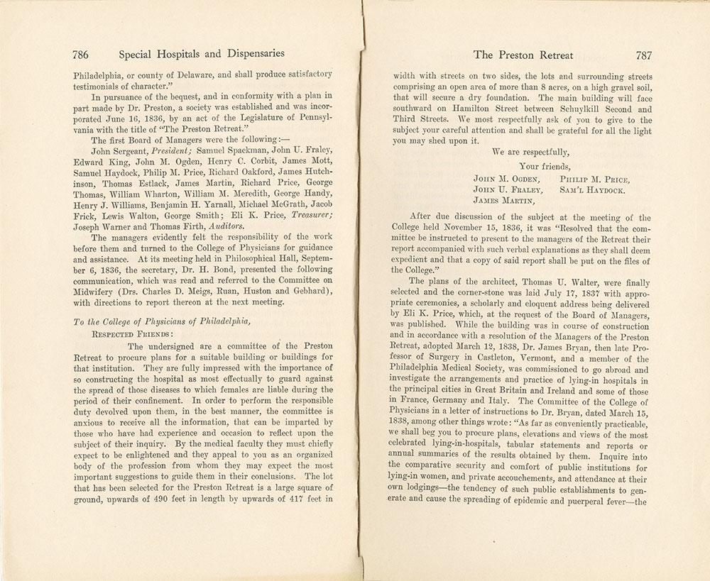 Castner Scrapbook v.9, Hospitals, Charitable, page 87