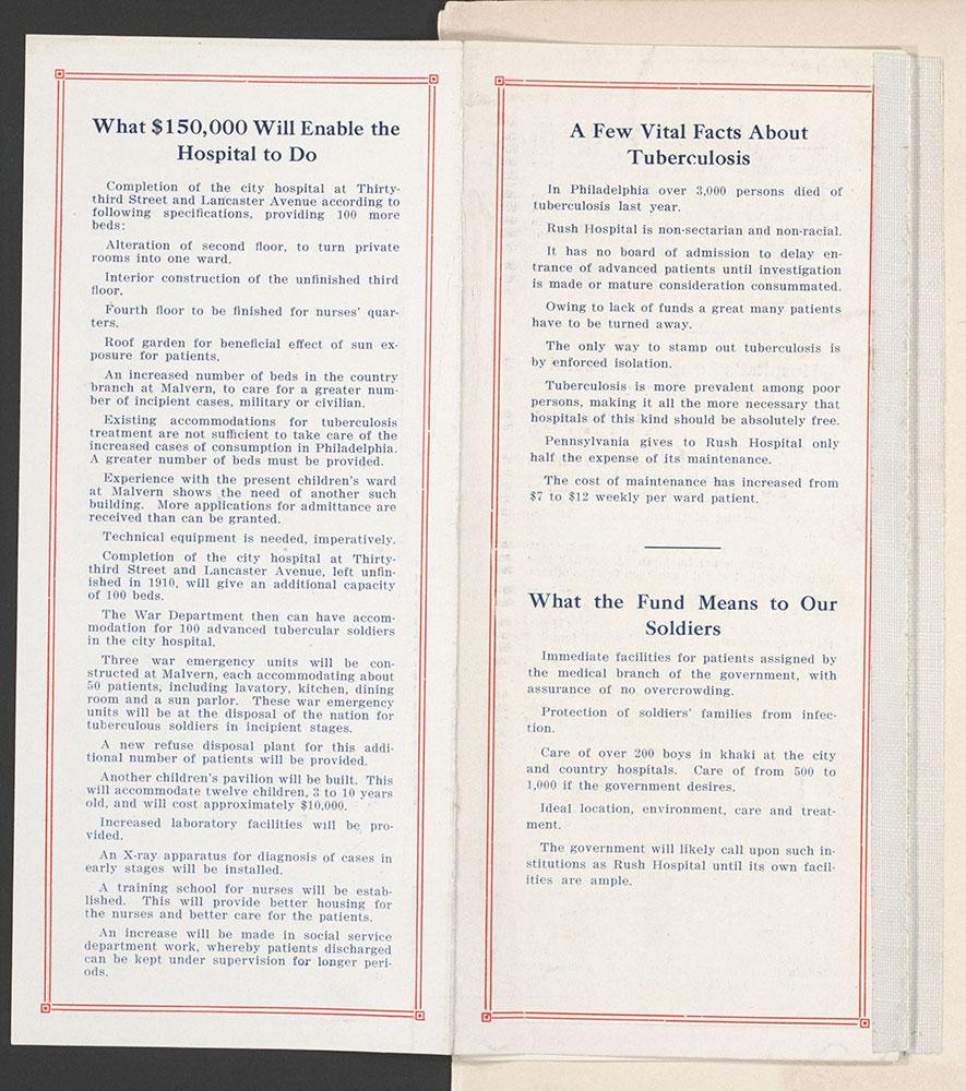 Castner Scrapbook v.9, Hospitals, Charitable, page 89