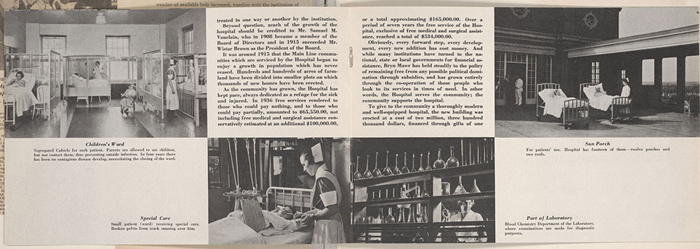 Castner Scrapbook v.9, Hospitals, Charitable, page 93