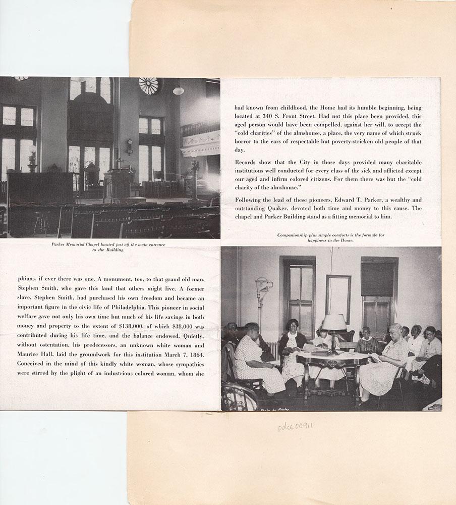Castner Scrapbook v.9, Hospitals, Charitable, page 97
