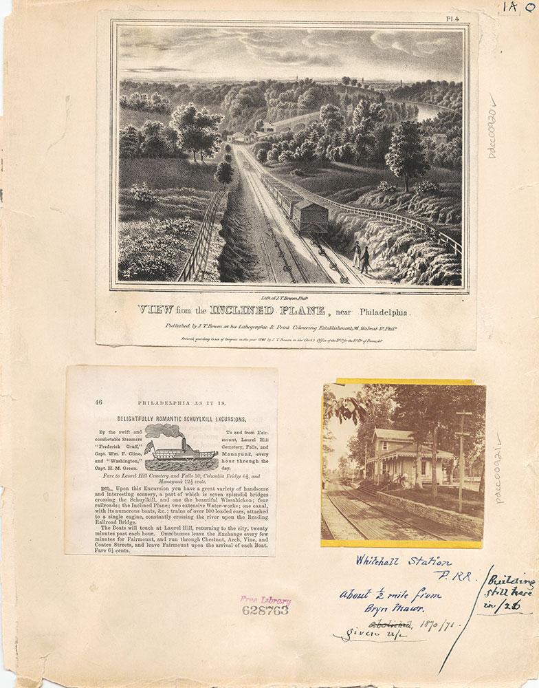 Castner Scrapbook v.10, Transportation, page 1A