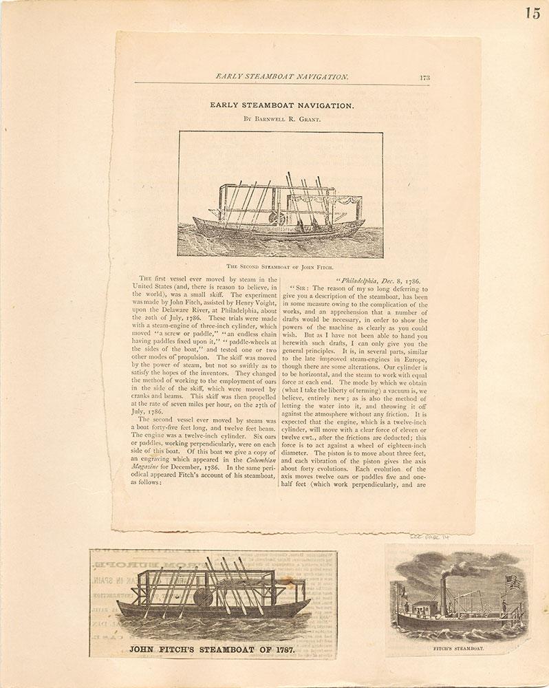 Castner Scrapbook v.10, Transportation, page 15