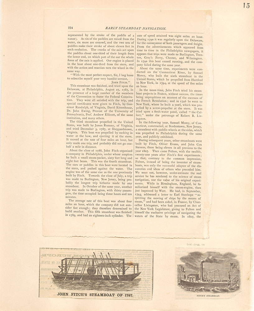 Castner Scrapbook v.10, Transportation, page 15