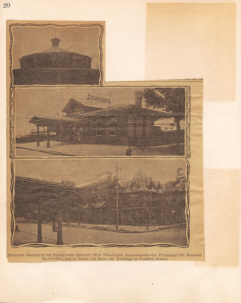 Castner Scrapbook v.10, Transportation, page 20