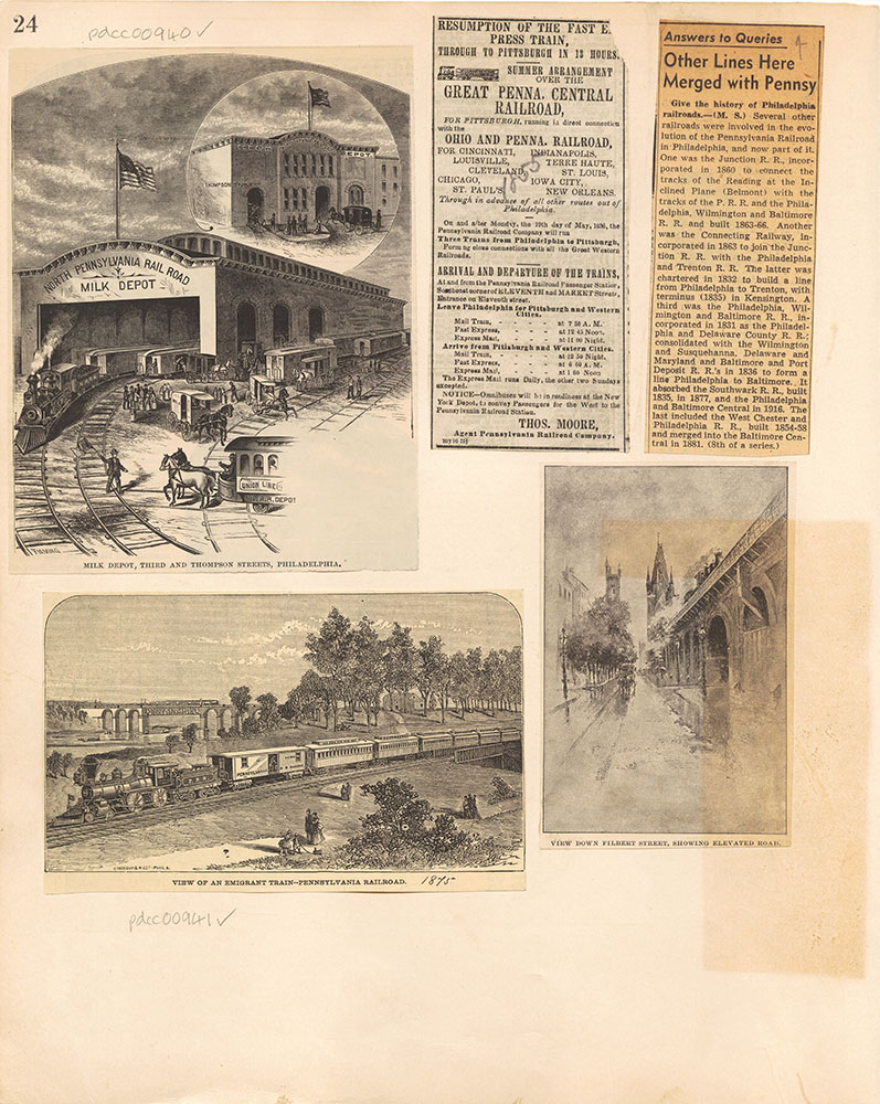 Castner Scrapbook v.10, Transportation, page 24