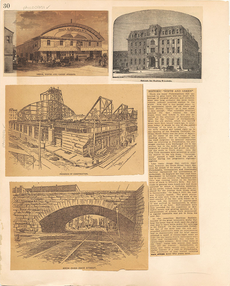Castner Scrapbook v.10, Transportation, page 30