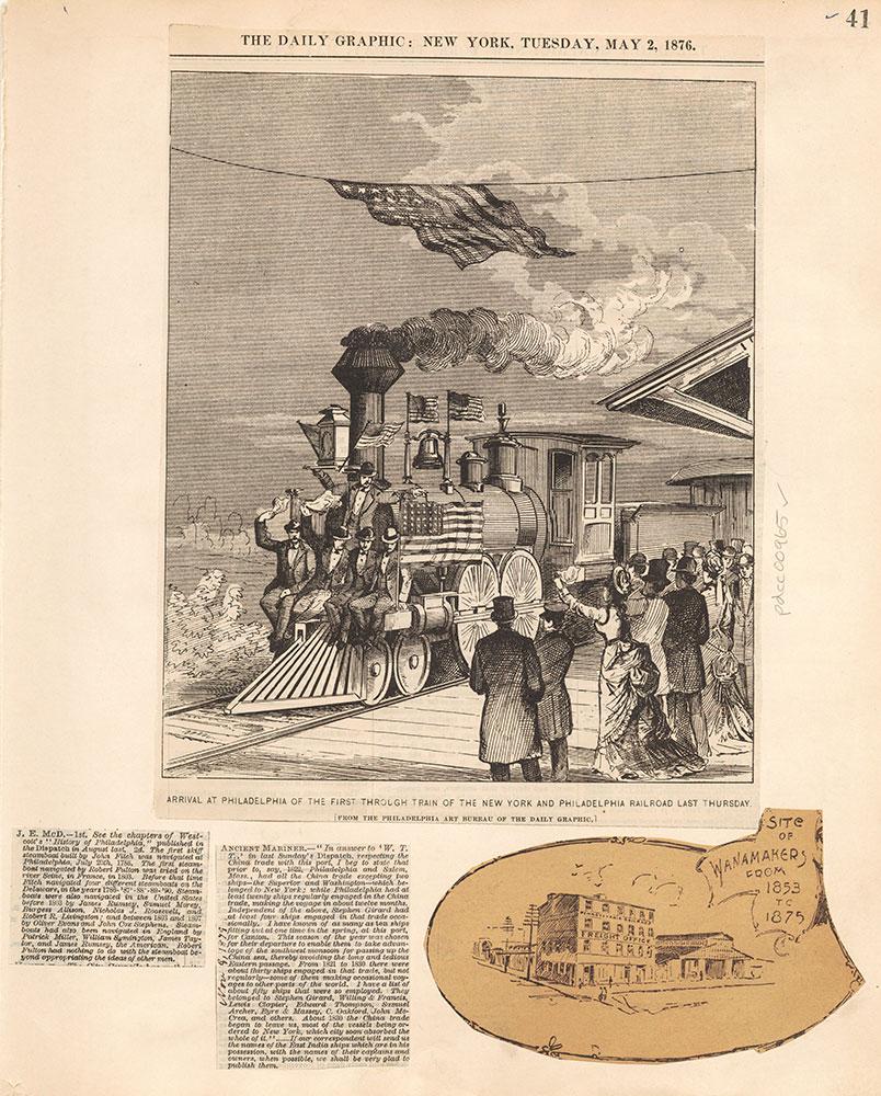Castner Scrapbook v.10, Transportation, page 41