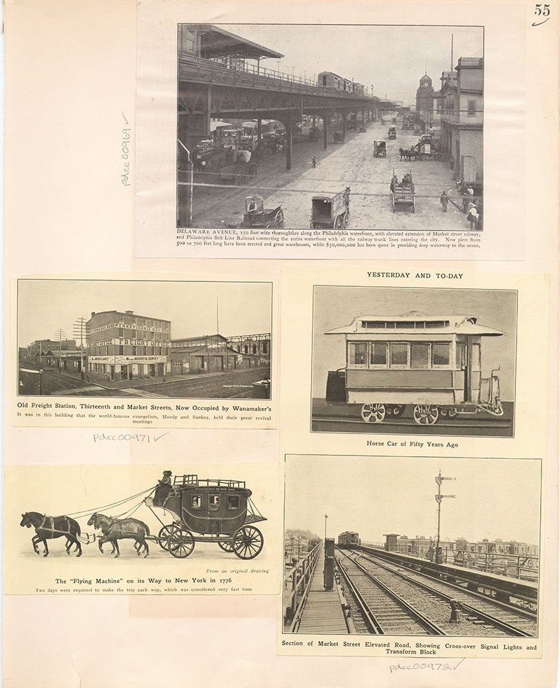 Castner Scrapbook v.10, Transportation, page 55