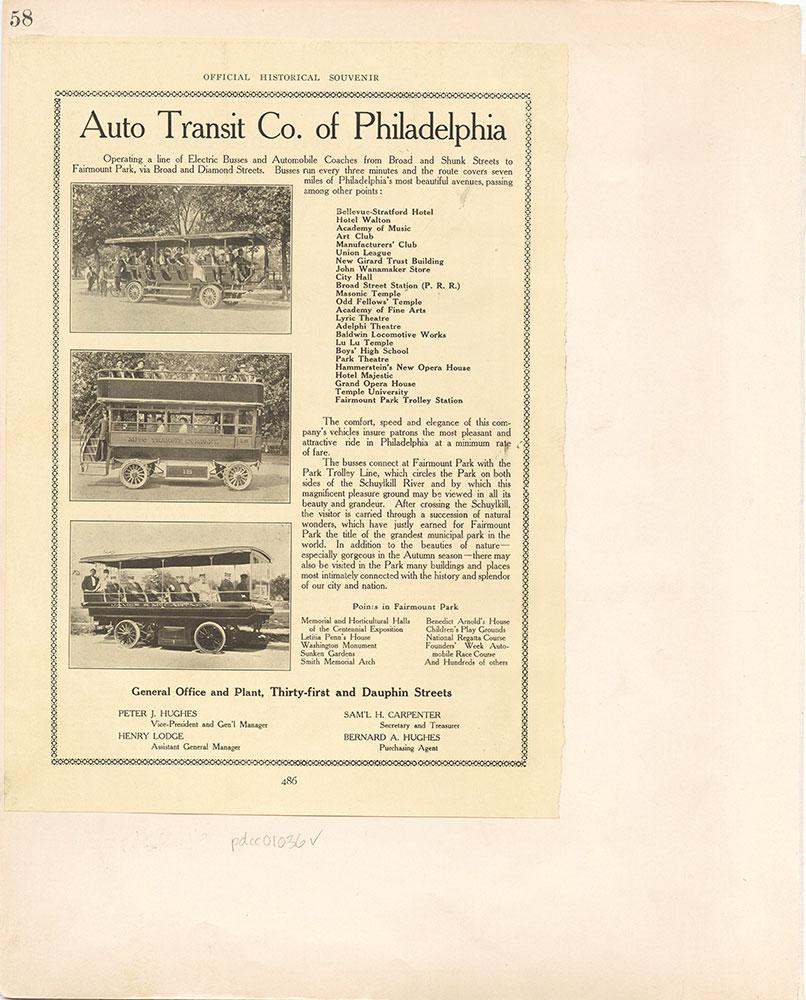 Castner Scrapbook v.10, Transportation, page 58