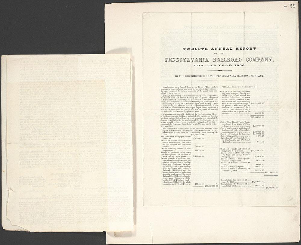 Castner Scrapbook v.10, Transportation, page 59