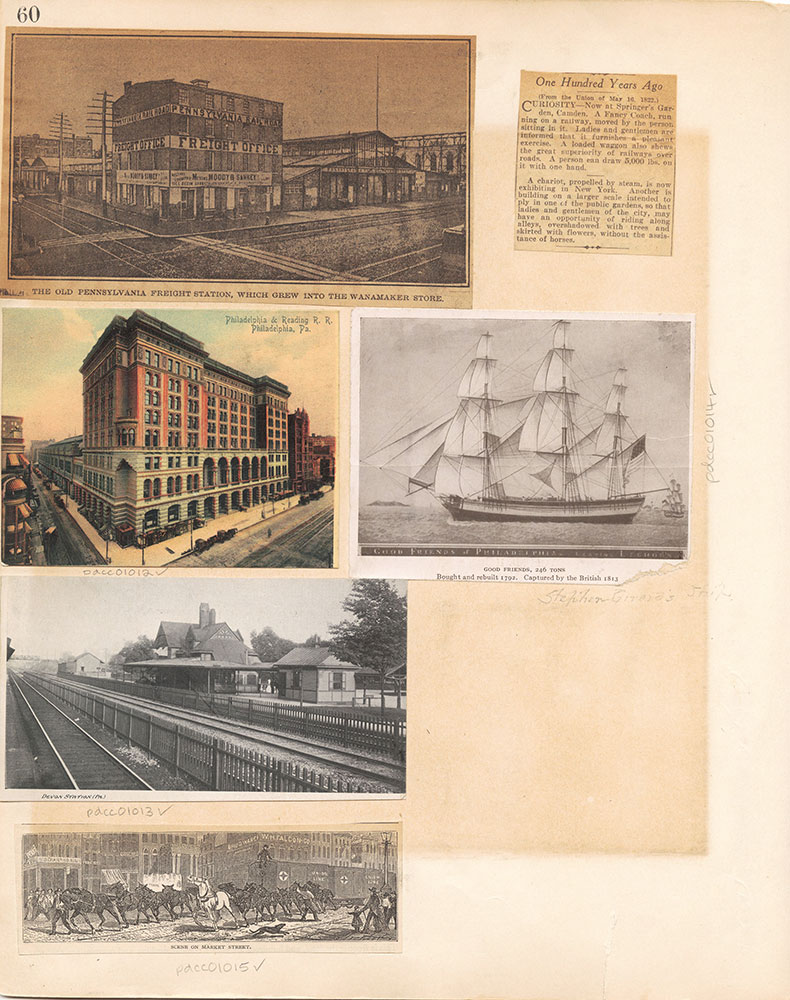 Castner Scrapbook v.10, Transportation, page 60