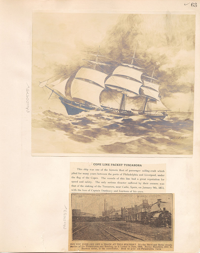 Castner Scrapbook v.10, Transportation, page 63