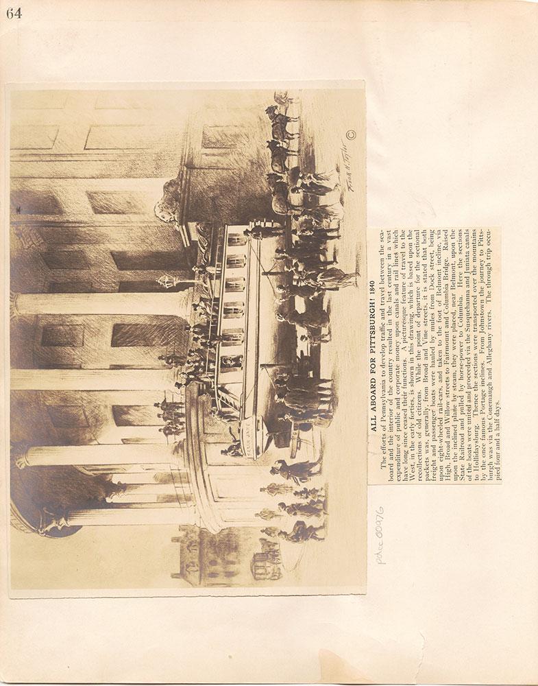 Castner Scrapbook v.10, Transportation, page 64