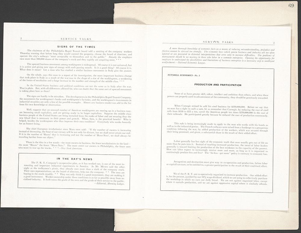 Castner Scrapbook v.10, Transportation, page 69
