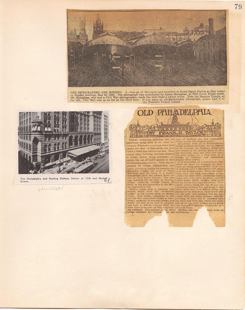 Castner Scrapbook v.10, Transportation, page 79
