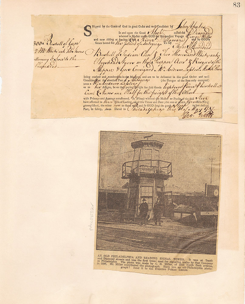 Castner Scrapbook v.10, Transportation, page 83