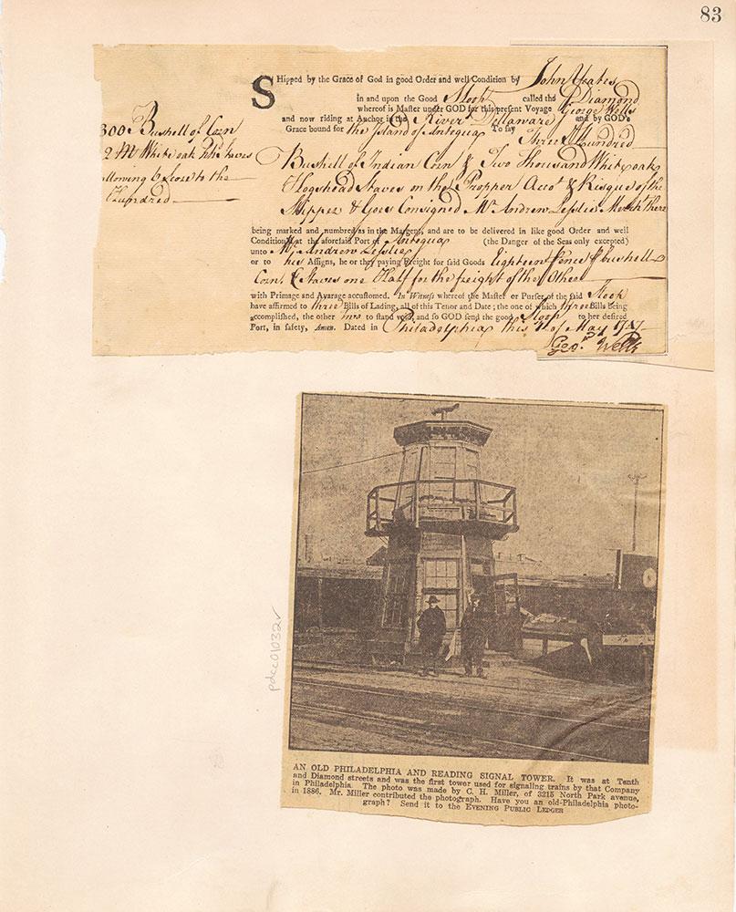 Castner Scrapbook v.10, Transportation, page 83