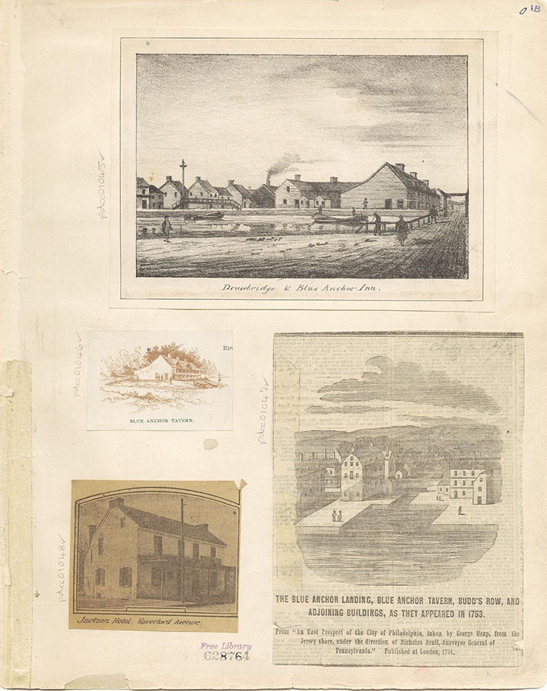 Castner Scrapbook v. 11, Hotels, Inns, page 1b
