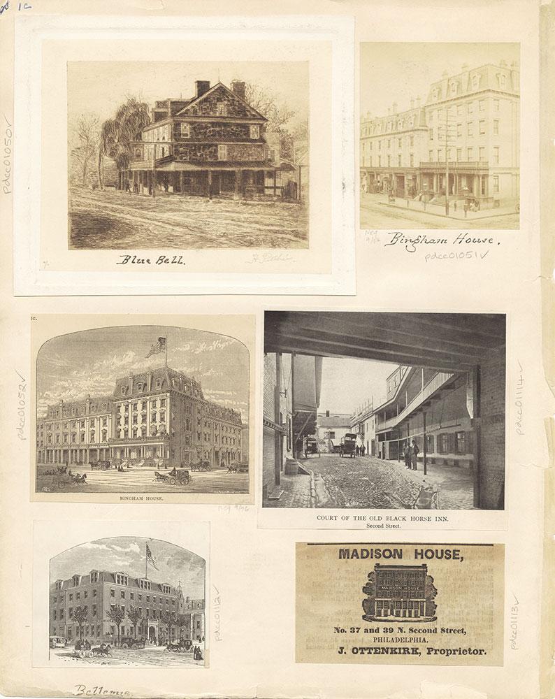 Castner Scrapbook v. 11, Hotels, Inns, page 1C