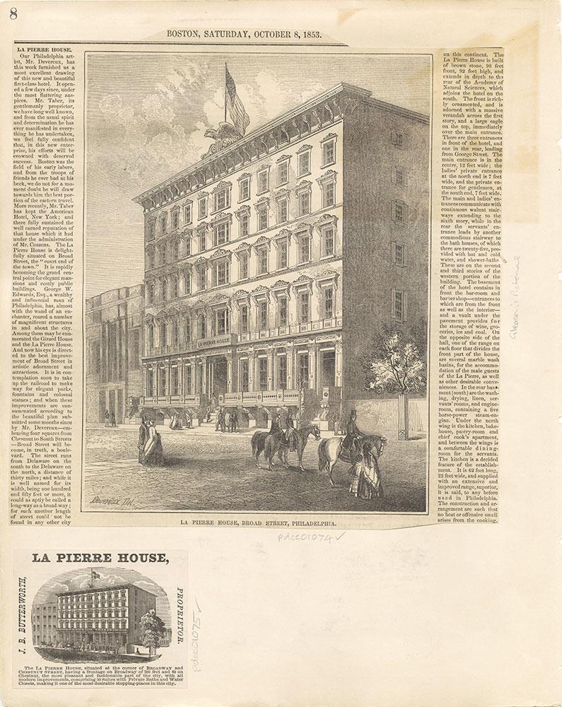 Castner Scrapbook v. 11, Hotels, Inns, page 8