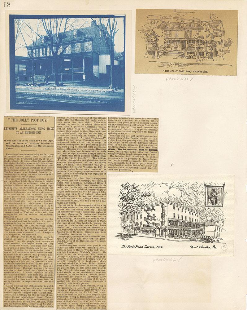 Castner Scrapbook v. 11, Hotels, Inns, page 18