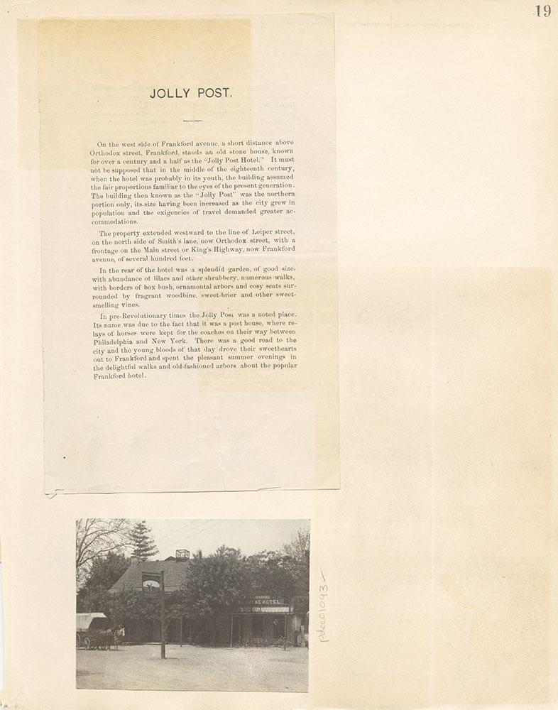 Castner Scrapbook v. 11, Hotels, Inns, page 19